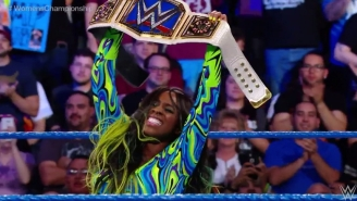 Naomi May Be Back From Her Injury In Time For WrestleMania