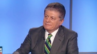 Andrew Napolitano Returns From Fox News Hiatus, And Swiftly Repeats His British Wiretapping Claims