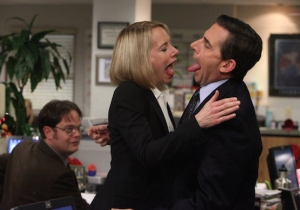 Amy Ryan Is Joining Her 'The Office' Sweetheart Steve Carell For Something A Bit Bleaker