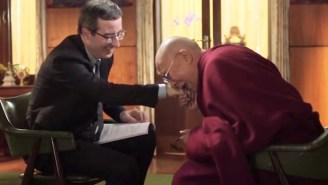 John Oliver Spoke With The Dalai Lama About Why He May Be The World's Last Dalai Lama