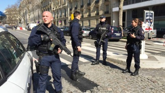 French Police Are Investigating An Explosion At The International Monetary Fund And A School Shooting