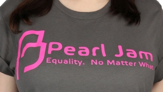 Pearl Jam Support International Women's Day With Their Own Hot Pink Planned Parenthood Shirts
