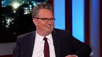 Matthew Perry Awkwardly Reminisces About The Time He Beat Up Justin Trudeau