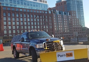 Pornhub Is Volunteering Plow Services For Some Free Publicity In The Snow-Slammed Northeast