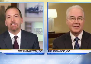 Health Secretary Tom Price Insists That 'Nobody Will Be Worse Off Financially' After The Obamacare Repeal