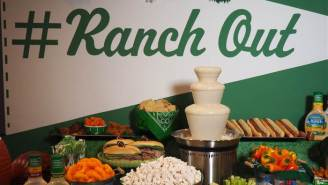 You Can Finally Have That Ranch Dressing Fountain You've Always Dreamed Of