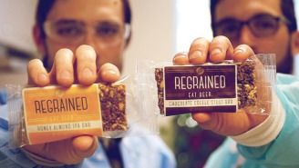 Meet The Food Rebels Using Beer Waste To Make Energy Bars