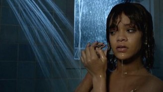 See How Rihanna's 'Bates Motel' Shower Scene Compares To The Original In 'Psycho'