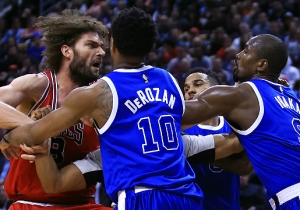 Brook Lopez Had Some Hilarious Thoughts On His Brother's Fight With Serge Ibaka
