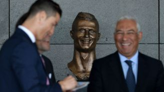The Internet Had Too Much Fun Mocking Cristiano Ronaldo's Weird-Looking Sculpture