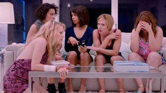 Scarlett Johansson And Kate McKinnon Cover Up A Stripper's Death In The 'Rough Night' Trailer