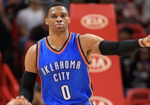 Russell Westbrook Won An MVP Award For The 2016-17 Season That He'll Want To Forget