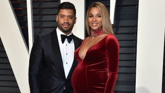 A Very Pregnant Ciara Was In A Serious Car Accident