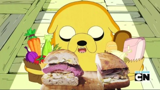 Here's Exactly How To Make Jake's Perfect Sandwich From 'Adventure Time'