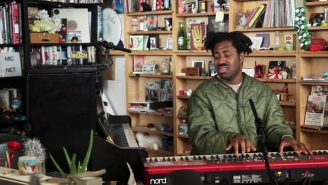 Sampha's Tiny Desk Concert Is So Intimate It Will Make You Feel Like You're In The Room