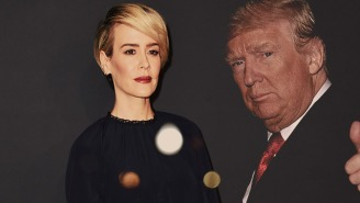 Sarah Paulson, Noted Fun-Idea Haver, Wants To Play Trump In The Election-Themed 'AHS' Season