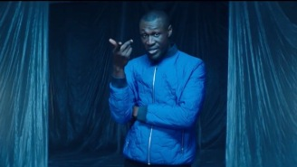Watch British Grime Rapper Stormzy Get Frosty In His New 'Cold' Video