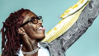 Young Thug Is Rocking A Yellow Python On Insta That Looks Suspiciously Familiar