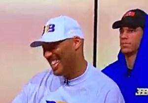 LaVar Ball Strutting Onto An ESPN Set Full Of Swagger Is Your New Favorite Meme
