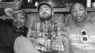 Justin Timberlake Posted A Pic With Timbaland And Pharrell And People Already Want The Album