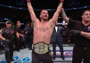 UFC Heavyweight Champion Stipe Miocic Is Interested In Going To WWE