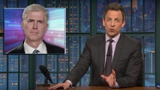 Seth Meyers Is Fearful Donald Trump's Alleged Ties To Russia Overshadows The GOP's SCOTUS 'Theft'