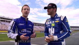Mark Zuckerberg Continued His Subtle Presidential Campaign By Riding With Dale Earnhardt Jr.