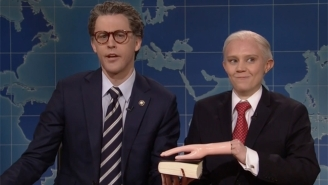 Kate McKinnon's 'Jeff Sessions' Proves She Could Handle The Entire Trump Administration If 'SNL' Let Her