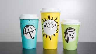 Starbucks Has 'Easter Cups' Now But Please Don't Make It A Controversy