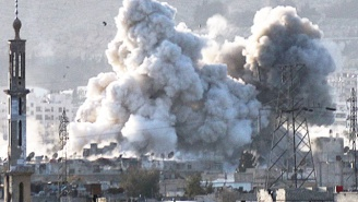 A U.S.-Led Airstrike Reportedly Killed Dozens Of Civilians In Syria