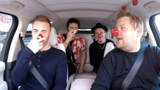 James Corden Picks Up UK Dad Band Take That For A Very British Brand Of 'Carpool Karaoke'