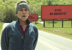 Frances McDormand Is A Menace 2 Society In The Thrilling 'Three Billboards' Trailer