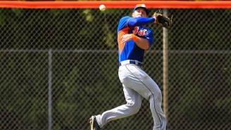Tim Tebow's First Spring Training Game With The Mets Was An Unmitigated Disaster