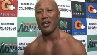 Tomoaki Honma Promised To Return To The Ring 'More Oiled Up Than Before'