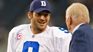 Jerry Jones Is Confident That Tony Romo Would Never Sign With A Rival Team
