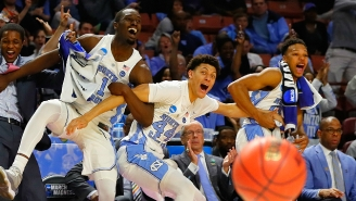 No. 1 UNC Benefitted From Two Questionable Calls To Survive Against Arkansas