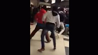 A Huge Brawl Broke Out In The Concourse At The McDonald's All-American Game