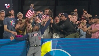 A Closer Look At The Classic Fan Reactions From Adam Jones' Insane Catch