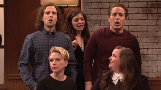 'SNL' Addresses #DayWithoutAWoman With A Clever Sketch That 'Mansplains' The Entire Thing