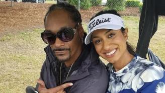 Snoop Dogg Showed Up At The Masters PGA Tournament To Live His Best Life