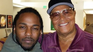 Nation Of Islam Leader Louis Farrakhan Says He Was Honored To Meet Kendrick Lamar