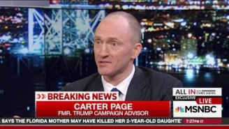 Former Trump Adviser Carter Page Met With A Russian Spy In 2013