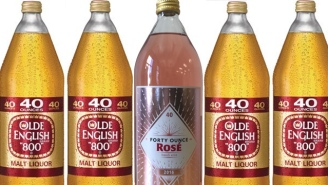 40-ounces Of Rosé Have Non-Wine Snobs Very Excited