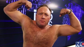 The Alex Jones Custody Trial Proceedings Included Videos Of Him Tearing His Shirt Off, Of Course