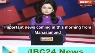 An Indian News Anchor Realized Her Husband Died As She Reported The Story On Live TV