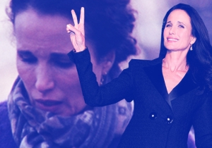 Andie MacDowell Is The Positivity We Need In This World Right Now