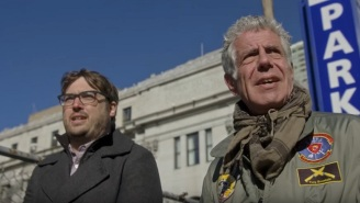 Anthony Bourdain Sadistically Bullies Jonah Ray In The 'Hidden America' Season 2 Trailer