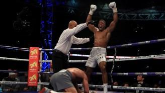 After Beating Wladimir Klitschko, Anthony Joshua Sets His Sights On … Tyson Fury?