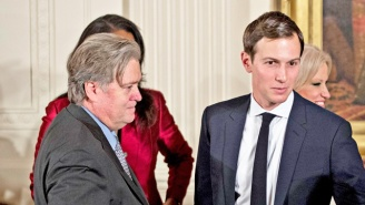 Steve Bannon Allegedly 'Loves A Gunfight' And Is Ready For A Showdown With 'Globalist Cuck' Jared Kushner