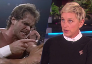 There Was An Accidental Chris Benoit Reference On The Ellen DeGeneres Show